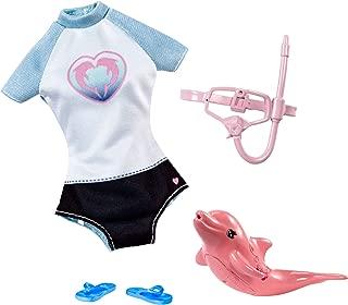 Barbie Dolphin Magic Snorkel Set Fashion Pack