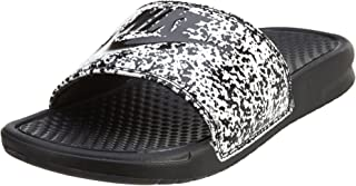 542bc02277c0 Nike Men s Benassi JDI Print White Black 631261-100 (SIZE  ...