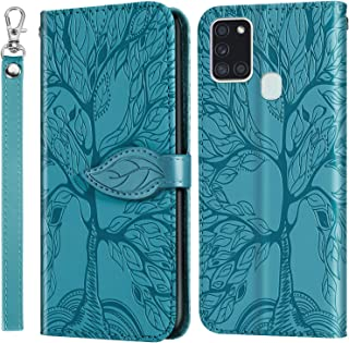 Jajacase Funda Folio Samsung Galaxy A21s Fundas - Carteras C