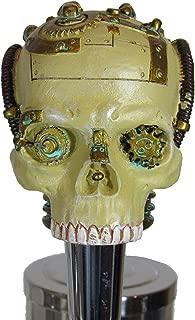 Kool Collectibles Steampunk Skull Beer Tap Handle Sports Bar Kegerator Resin Zombie Breweriana