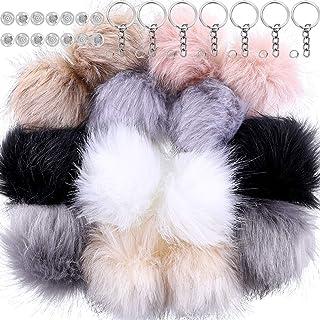 5e5edf3b8 Amazon.com: fuax fur pompom