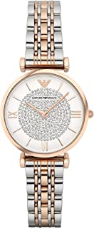 Women's Stainless Steel Two-Hand Dress Watch