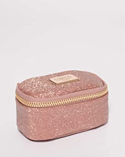 Rose Gold Jewel Purse With Gold Hardware