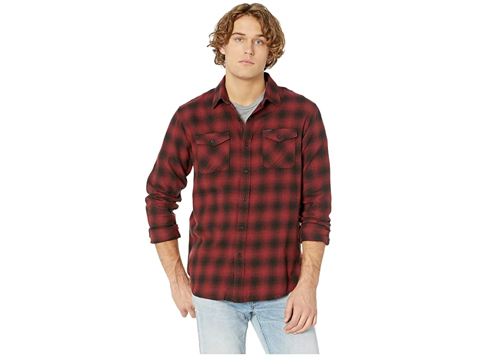 Rip Curl Draco Flannel Shirt (Red) Men
