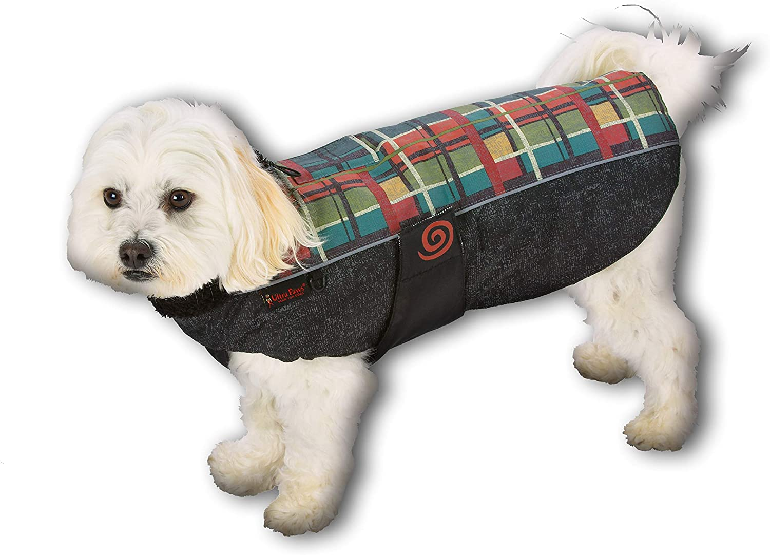Ultra Paws Weather Master Coat Reflective Insulat At the price At the price Plaid Forest
