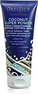 Pacifica Beauty Coconut Super Power Deep Conditioning Damage Control Mask, 6 Fluid Ounce
