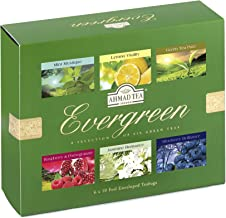 Ahmad Tea Evergreen Tea, 60 Count