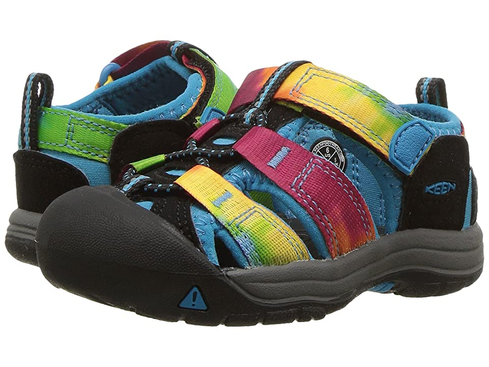 Keen Kids Newport H2 (Toddler) (Rainbow Tie-Dye (Prior Season)) Kids Shoes