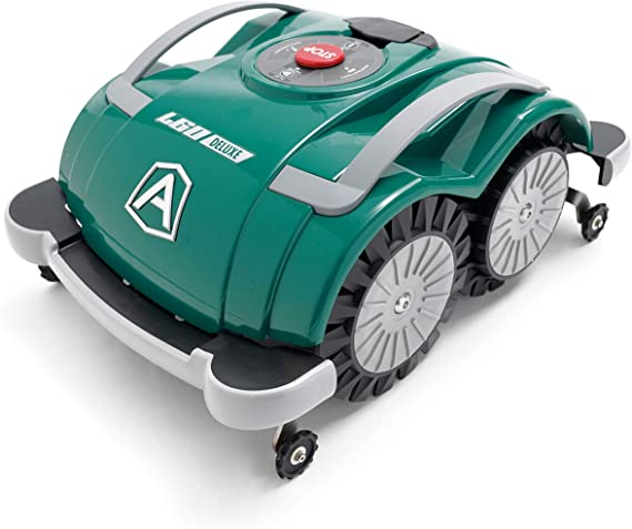 Ambrogio Robot AM060D0K8Z Robot cortacésped, Verde, 200 Mq: Amazon.es: Jardín