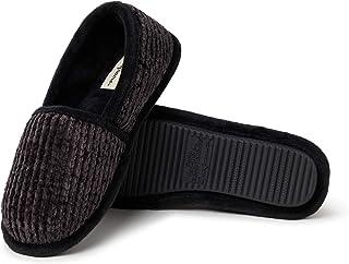 Dearfoams Chenille - Zapatillas de Mujer