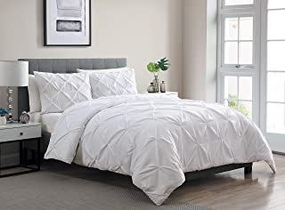 VCNY Home | Carmen Collection | Super Soft Microfiber Duvet Cover, Cozy and Relaxing 3 Piece Bedding Set, Chic and Modern ...