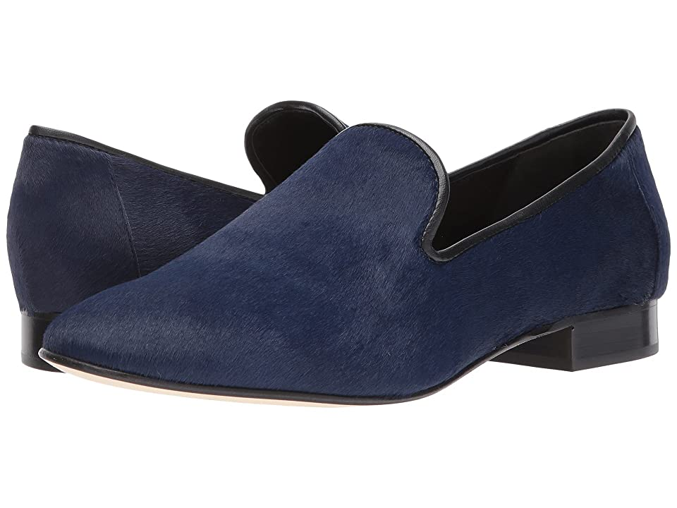 Diane von Furstenberg Leiden-4 (Midnight Solid Haircalf) Women