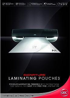 GBC BL125MA4 Laminating Pouch, A4 125 Micron PK100