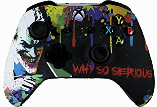 Xbox One S/X Soft Touch Custom Modded Rapid Fire Controller -Soft Shell for Comfort Grip X - Includes Largest Variety of Modes - Master Mod (Joker)
