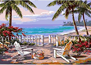 OSCEN Paint by Numbers for Adults: Beginner to Advanced Number Painting Kit - Fun DIY Adult Arts and Crafts Project - Kit ...