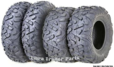 Set 4 WANDA ATV Tires 23x7-10 Front & 22x10-10 Rear Big Horn Style …