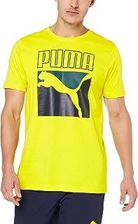 PUMA Men's Graphic Box Logo TEE