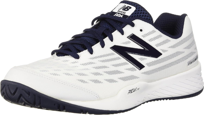 New Balance - Herren Hard Court MCH89 Schuhe, 45.5 45.5 EUR - Width 2E, Weiß schwarz  Online einkaufen