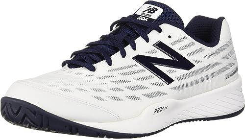 New Balance - Chaussures Chaussures Chaussures Hommes Hard Court MCH89, 46.5 EUR - Width D, blanc noir d3f