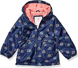 Girls' Midweight Fleece Lined Anorak Jacket