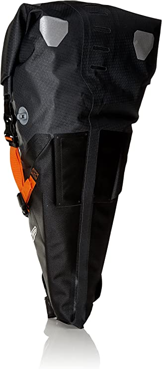Westgirl Sacoche de selle de v/élo r/ésistante /à leau avec bandes r/éfl/échissantes grande capacit/é pour mini pompes accessoires de v/élo outils de r/éparation
