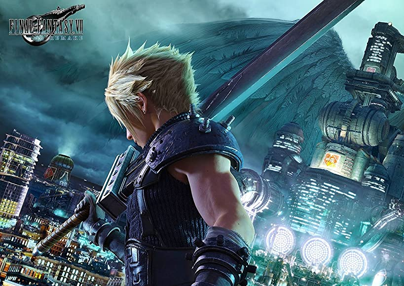 Final Fantasy VII Remake Poster