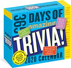Workman Calendars: 2020 365 Days of Amazing Trivia! Page-A-D