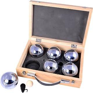 comprar comparacion Engelhart - Juego completo de bolas en un bonito maletín de transporte de madera - 010205