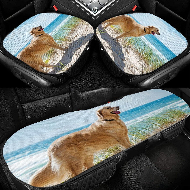 Golden San Jose Mall Retriever Max 70% OFF Car Seat Cushion Ice Driver Silk Cove
