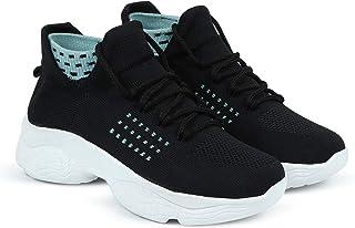 HimQuen Girl's Walking Running Training & Gym Lightweight Comfortable Shoe for Women/Girl's