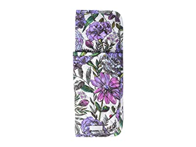 Vera Bradley Iconic Curling Flat Iron Cover (Lavender Meadow) Wallet