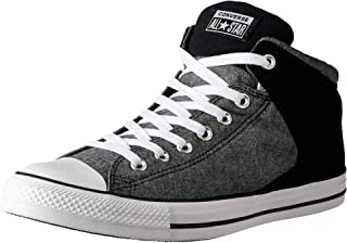 Converse Chuck Taylor All Star High Street Unisex Sneakers, Black/White/Black
