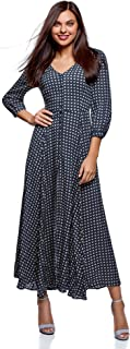 oodji Ultra Women's Button-Down Maxi Dress