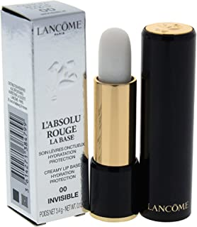 Lancome LAbsolu Rouge Creamy Lip Base Hydration Protection - # 00 Invisible by Lancome for Women - 0.12 oz Lipstick, 3.4 g