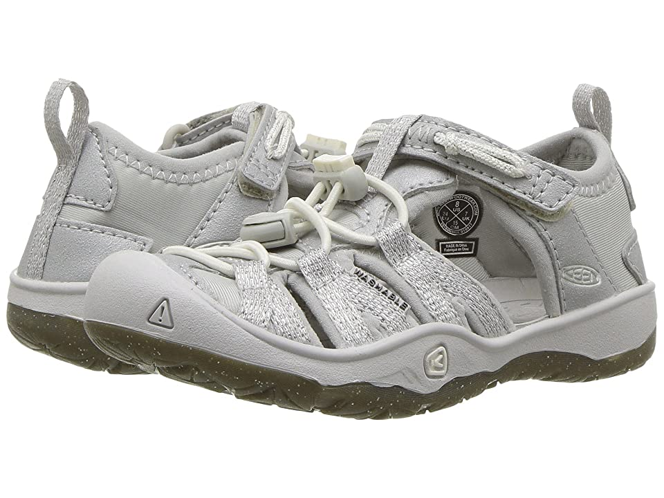 Keen Kids Moxie Sandal (Toddler/Little Kid) (Silver) Girl