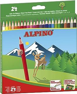 Lapices de Colores Alpino - Estuche de lápices de madera 24