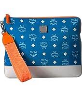 MCM - Resnick White Logo Nylon iPad Case