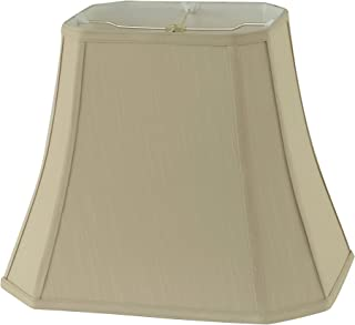 Briarwood Home Decor Rembrandt 1640 Taupe Fabric Square-cut Bell Lamp Shade