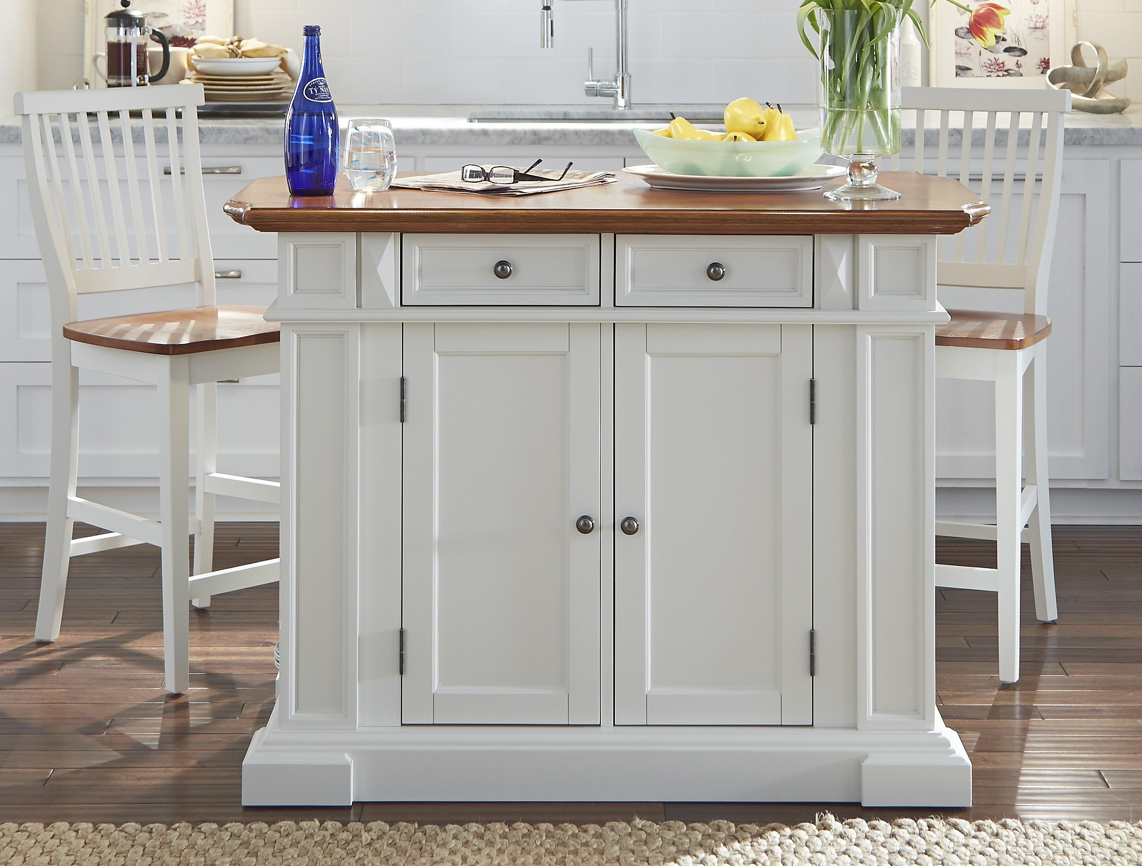 Homestyles Kitchen Island With Seating Off 72