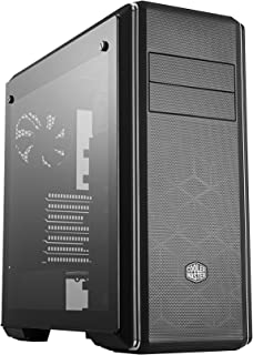 Cooler Master MasterBox CM694 E-ATX Mid Tower Case with Tempered Glass Window Curved Mesh Modular Drive Cages - Black - MC...