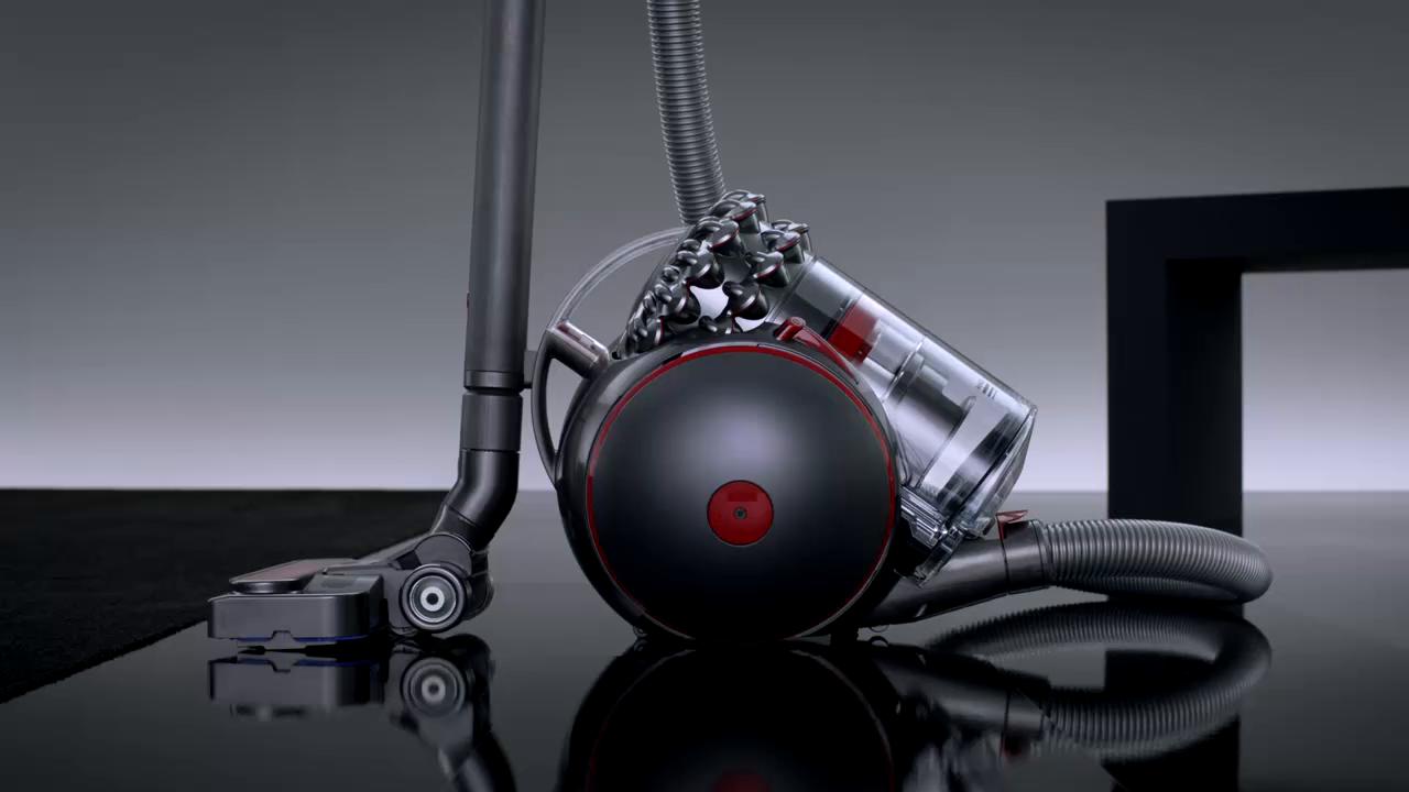 Dyson Cinetic Big Ball Multifloor 2 Aspiradora de trineo sin mantenimiento, 700 W, 0.8 litros, 80 Decibelios, Amarillo: Amazon.es: Hogar