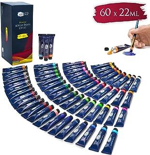 Artina Set de Colores acrílicos Crylic 60x22 ml - Set de