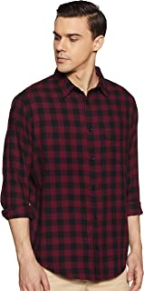 Roots by Ruggers Men's Solid Regular fit Casual Shirt