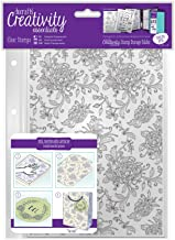 DOCrafts DCE907127 Creativity Essentials A5 Background Stamps, Floral, Clear