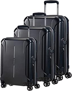 American Tourister Technum 3 Piece TSA Luggage Set (Diamond Black