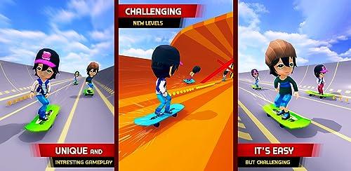 『Skater Race! Turbo Rush - Skateboard Stars Racing Game』のトップ画像