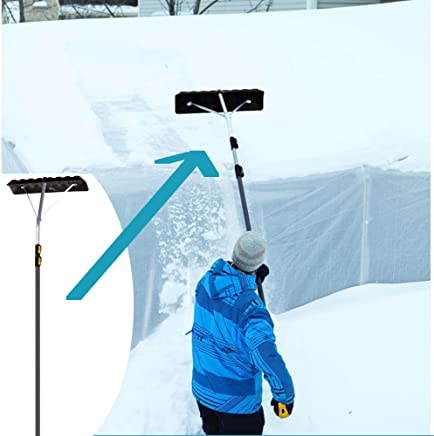 96322 Snow Roof Rake 16 4-Sect 60 Upsable Point Of Purchase Box