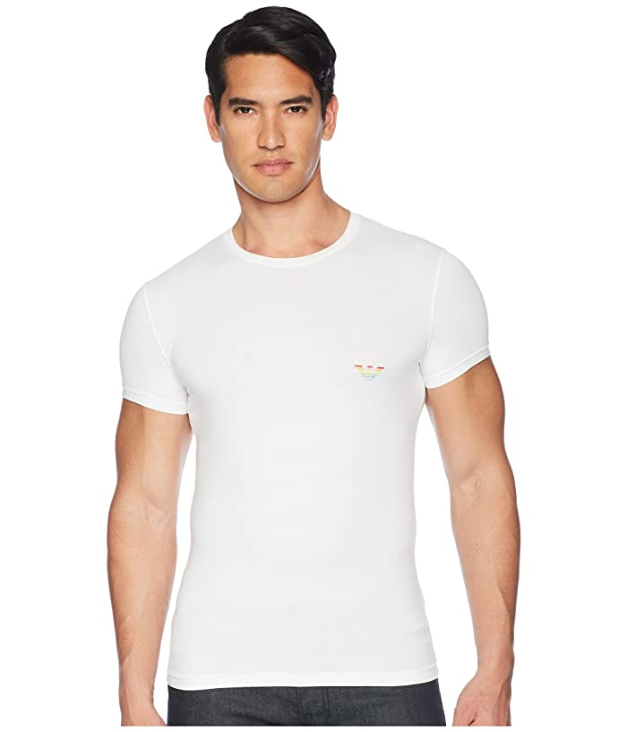daf0a1a705 Emporio Armani Big Eagle Slim Fit Crewneck T-Shirt | 6pm