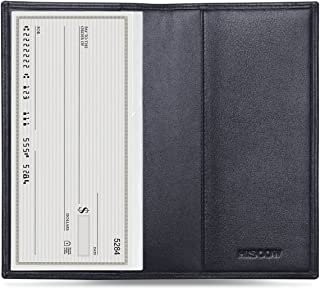 HISCOW Minimalist Checkbook Cover - Full Grain Leather
