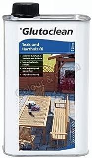 Glutoclean Teak und Hartholz Öl 1,000 L